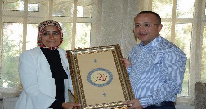 Erzurum Milletvekili Taşkesenlioğlu'ndan bayram ziyareti