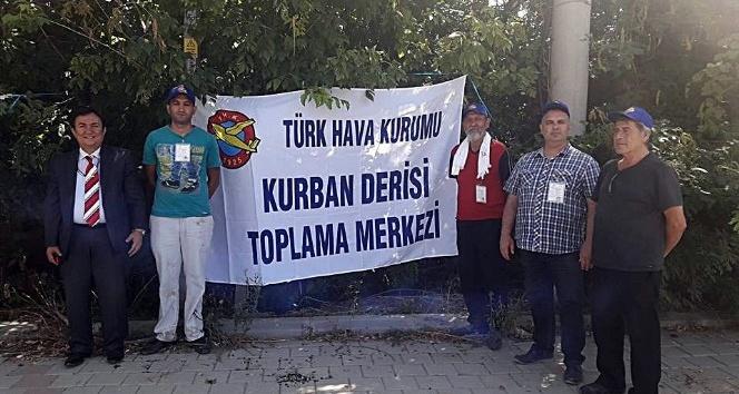 THK Kırklareli'de 2 bin 86 adet kurban derisi topladı