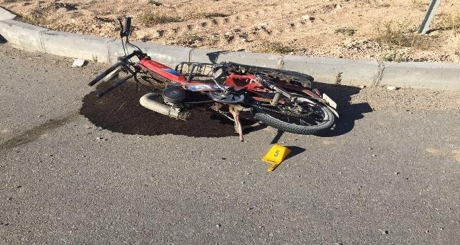 Karaman'da otomobille motosiklet çarpıştı: 1 ölü