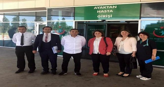 Sağlık Bakanlığı yetkilileri Kırklareli'nde hastaların bayramını kutladı