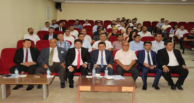 Şırnak'ta öğretmenlere yeni müfredat anlatıldı