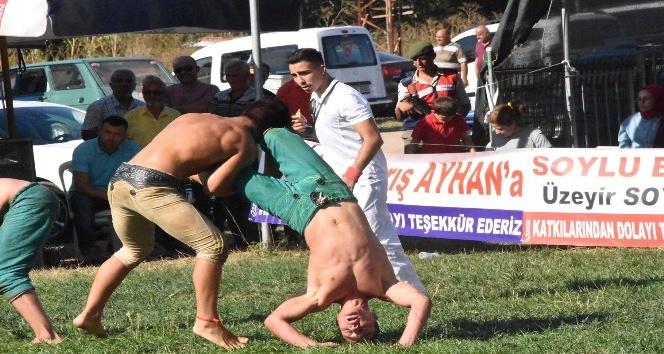 Kabalı Köyü Karakucak Güreşleri yapıldı
