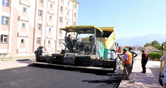 Özel İdareden asfalt çalışması