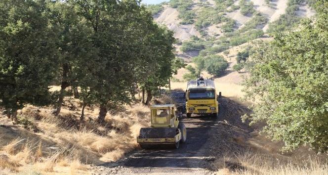 Hozat'ta 13 köyde yol çalışması