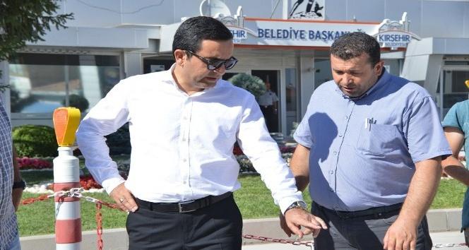 Kırşehir'de üst yapı çalışmaları başladı