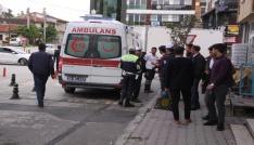 Özel halk otobüsünün çarptığı yaşlı adam yaralandı