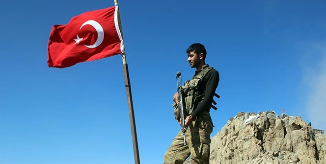 Oramar Dağı Mehmetçik'in kontrolünde