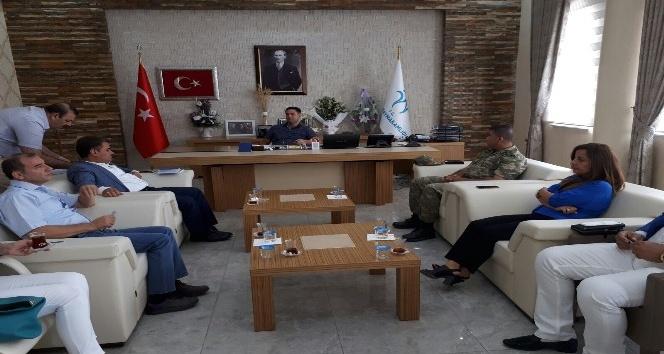Bismil'de okul güvenliği toplantısı yapıldı