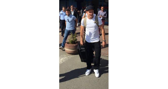 Tomas Hubocan Trabzon'a geldi