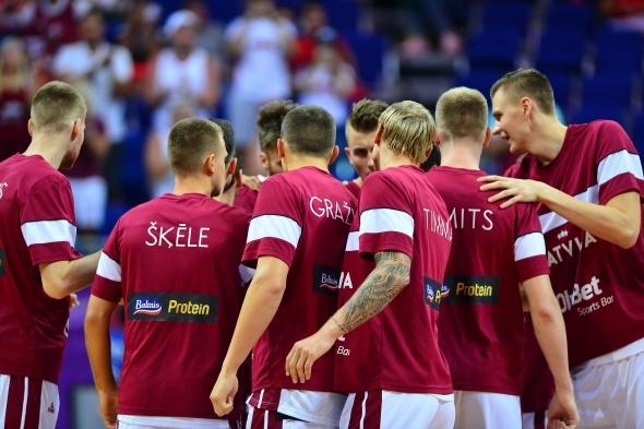 12 Dev Adam Letonya'yı aşamadı