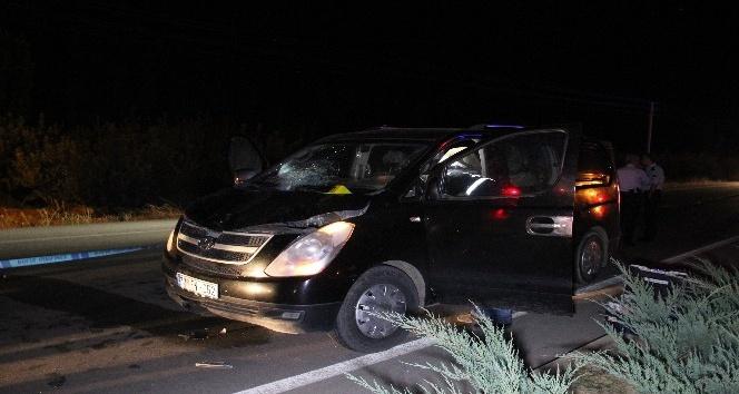 Karaman'da minibüsün çarptığı zihinsel engelli şahıs öldü