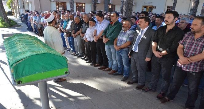 Şehit Polis Memuru Sarıgül'ün babası son yolculuğuna uğurlandı