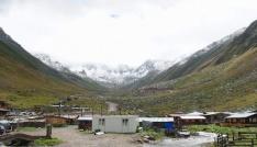 Kaçkar Dağına ilk kar düştü