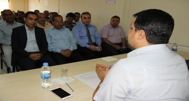 Sur'da 'okul güvenliği' toplantısı yapıldı