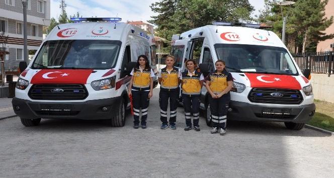 Uşak İl Sağlık Müdürlüğünde ambulans teslim töreni yapıldı