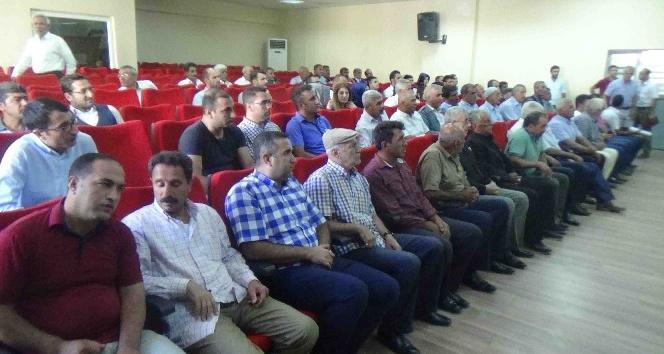 Kulp'ta 'Okul Güvenliği' toplantısı