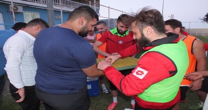 Taraftarları Diyarbekirsporu'u yalnız bırakmadı