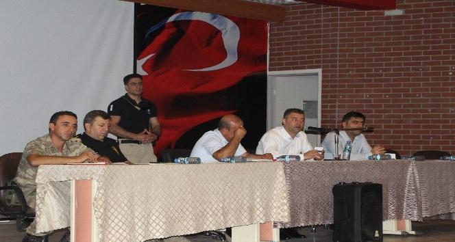 Silopi'de 'Okul Güvenliği' toplantısı