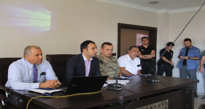 Silvan'da 'Okul Güvenliği' toplantısı yapıldı