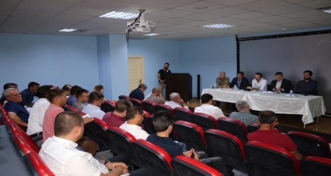 Lice'de 'Okul Güvenliği' toplantısı yapıldı