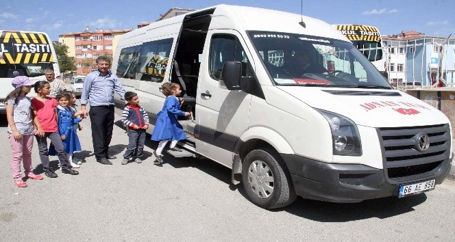 Yozgat'ta öğrenci servisleri yeni eğitim öğretim yılına hazır