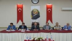 """""""2017-2018 Eğitim Yılı Güvenlik, Uyuşturucu ve Okul Servisi"""" Toplantısı yapıldı"""