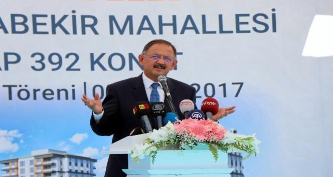 """Bakan Özhaseki: """"15 yıl içerisinde tüm Türkiye'yi depreme hazırlıklı hale getireceğiz"""