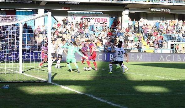 Kardemir Karabükspor Beşiktaş maçından kareler