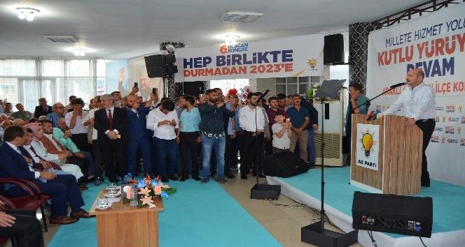 """Bakan Soylu: """"Siyaseti Cumhurbaşkanı Erdoğan ne zaman noktalarsa ben de o zaman noktalayacağım"""""""