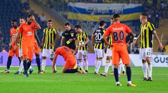 Fenerbahçe, Medipol Başakşehir maçından kareler
