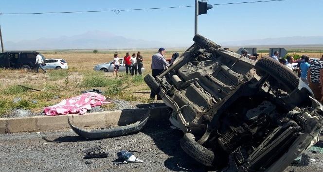 Kayseri-Niğde karayolunda trafik kazası: 1 ölü, 7 yaralı
