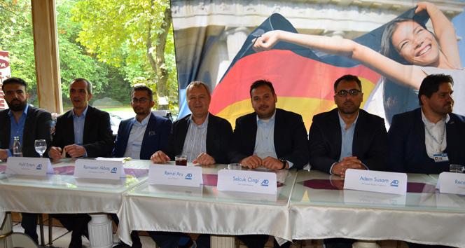 Alman Demokratlar Birliği Başkanı Remzi Aru: Cumhurbaşkanı Erdoğanın desteği bize güç kattı