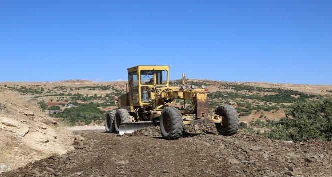 Tunceli'de köy yolları yapılıyor