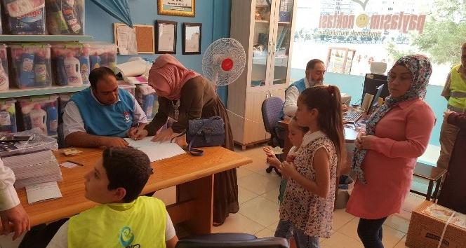 Beşir Derneği'nden 200 aileye yardım