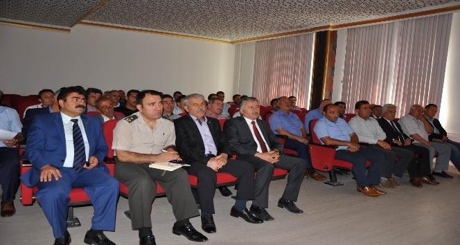 Sorgun'da okul güvenliği toplantısı yapıldı