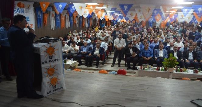 AK Parti Kocaköy, Kulp ve Lice kongreleri yapıldı