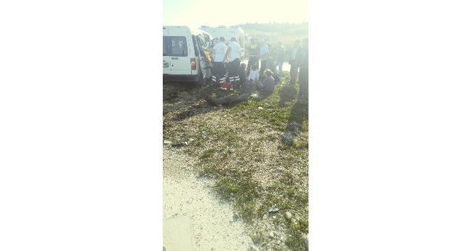 Kazada ağır yaralanan kadın hayatını kaybetti