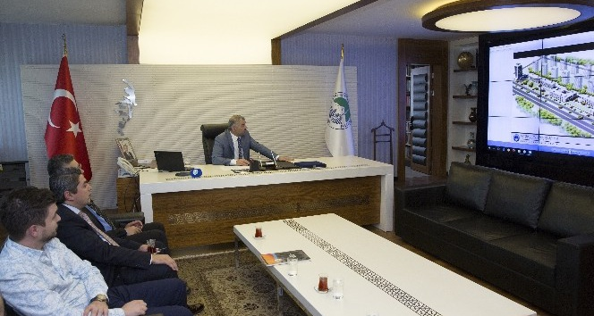 12. Bölge Kayseri Eczacı Odası Başkanı Ulutaş ve Yönetimi, Başkan Çelik'i Ziyaret Etti