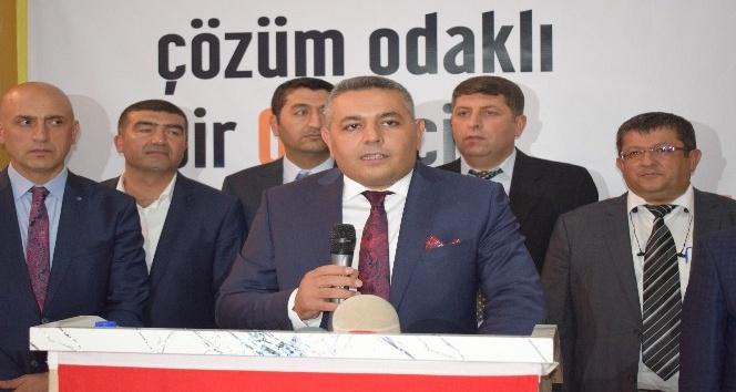 MTSO Başkan adayı Sadıkoğlu'nun seçim ofisinin açılışı yapıldı