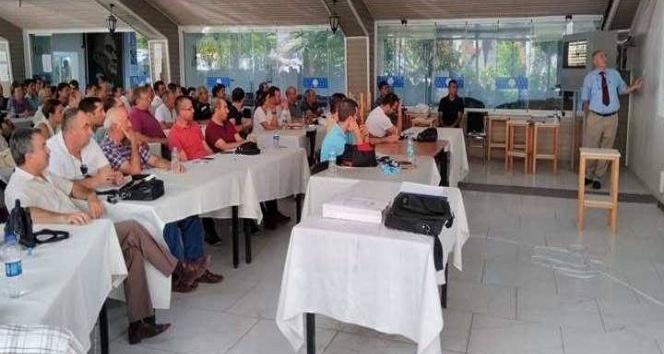 Masa Tenisi Tenisi hakemleri Ankara'da seminere katıldı