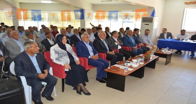 AK Parti Doğanyol İlçe Başkanı Ahmeü Doşar güven tazeledi