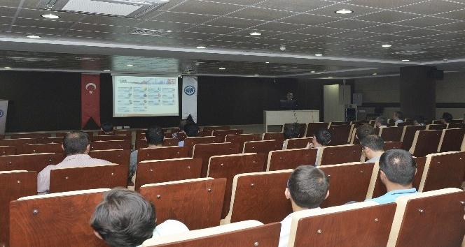 KMÜ'de hizmet içi eğitim düzenlendi