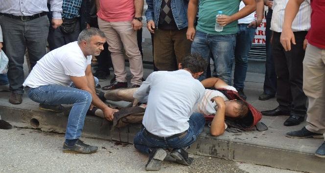 Kastamonu'da cadde ortasında silahlı kavga: 1 yaralı