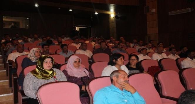 Iğdır da okullarda uyuşturucuyla mücadele için toplantı düzenlendi