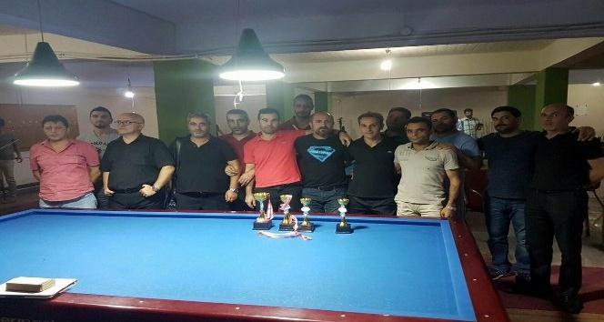 Sorgun'da bilardo şampiyonası düzenlendi