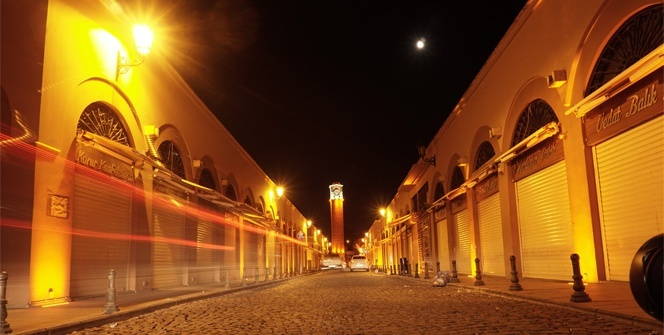 Işıl ışıl Adana gece bir başka güzel