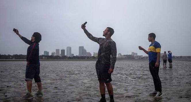 ABDde kasırga selfiesi