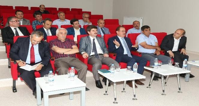 Bayburt Üniversitesi danışma kurulu toplantısı yapıldı
