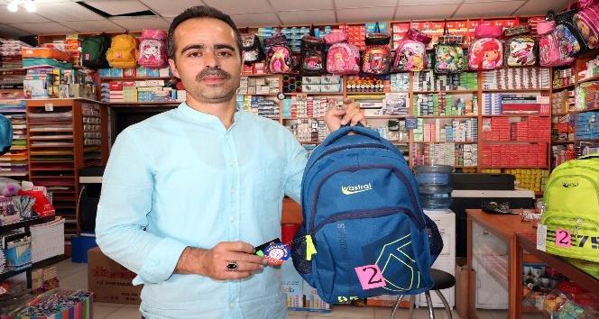 Kırtasiyecilerden velilere okul çantası uyarısı