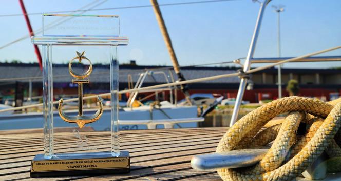 Denizcilik dünyası Viaport Marina'yı 'Altın Çıpa' ile ödüllendirdi